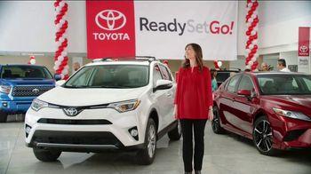 Toyota Ready Set Go! TV Spot, 'Banner: Rav 4' [T1] - 2 commercial airings