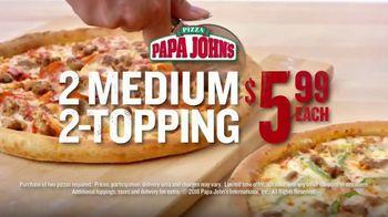 Papa John's TV Spot, 'Two Pies Are Better Than One' - Thumbnail 6