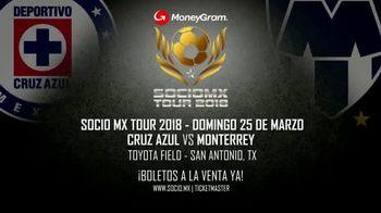 2018 SocioMx Tour TV Spot, 'Cruz Azul vs Monterrey' - Thumbnail 8