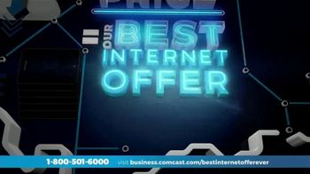 Comcast Business Best Internet Offer Ever TV Spot, 'Doubling Your Speed'