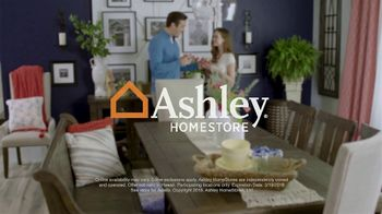 Ashley HomeStore Spring into Style Sale TV Spot, 'Bring Home the Savings' - Thumbnail 10