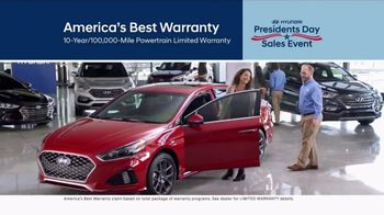 Hyundai Presidents Day Sales Event TV Spot, 'Best Deals of 2018' [T2] - 105 commercial airings