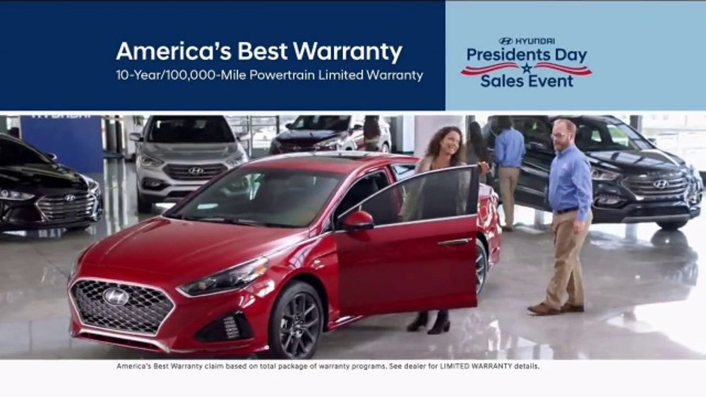 4b10dfc1fa6 Hyundai Presidents Day Sales Event TV Commercial