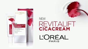 L'Oreal Paris Revitalift Cicacream TV Spot, 'Infused' - Thumbnail 4