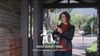 JoS. A. Bank Up to 70 Percent Off Sale TV Spot, 'Shirts, Suits & Clearance' - Thumbnail 1