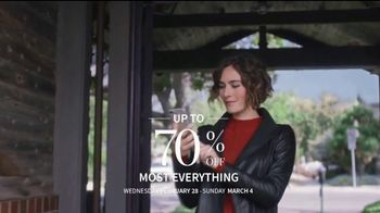 JoS. A. Bank Up to 70 Percent Off Sale TV Spot, 'Shirts, Suits & Clearance' - Thumbnail 2