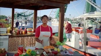 Popeyes $5 Butterfly Shrimp Tackle Box TV Spot, 'Other Guys' Seafood' - Thumbnail 3