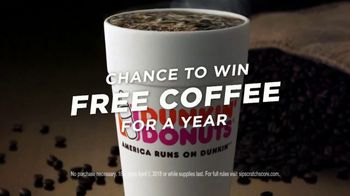 Dunkin' Donuts Sip Scratch Score! TV Spot, 'Win Coffee for a Year' - Thumbnail 7