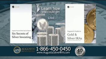 Augusta Precious Metals TV Spot, 'Answers About Silver' - Thumbnail 8