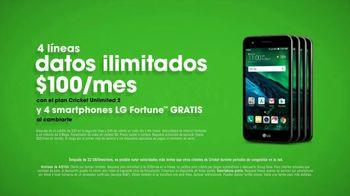 Cricket Unlimited 2 TV Spot, 'Hair' [Spanish] - Thumbnail 9