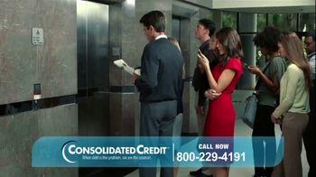 Consolidated Credit TV Spot, 'Elevator Bats' - Thumbnail 1