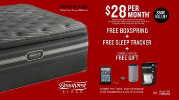 Value City Furniture Presidents' Day Mattress Sale TV Spot, 'Final Days' - Thumbnail 6