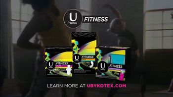 U by Kotex Fitness TV Spot, 'Products Stay In Place So You Don't Have To' - Thumbnail 10