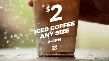 Dunkin' Donuts Iced Coffee TV Spot, 'Freshly Brewed' - Thumbnail 2