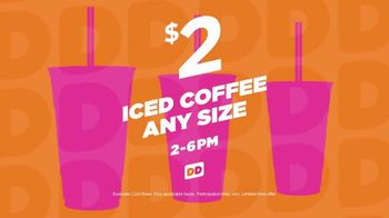 Dunkin' Donuts Iced Coffee TV Spot, 'Freshly Brewed' - Thumbnail 6