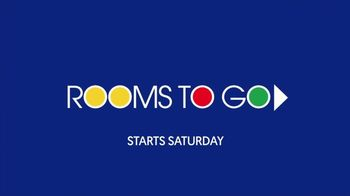 Rooms to Go Anniversary Sale TV Spot, 'Find the Room of Your Dreams' - Thumbnail 1