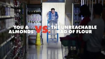 California Almonds TV Spot, 'You & Almonds vs The Unreachable Bag of Flour'