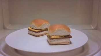 White Castle Microwaveable Cheeseburgers TV Spot, 'Gym Joke' - Thumbnail 1