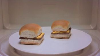 White Castle Microwaveable Cheeseburgers TV Spot, 'Gym Joke' - Thumbnail 6