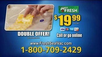 Always Fresh Seal Vac TV Spot, 'New Way to Seal and Save' - Thumbnail 10