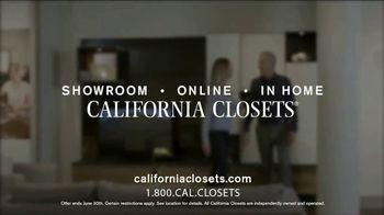 California Closets Finish Upgrade Event TV Spot, 'Premium Finish' - Thumbnail 10