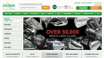 2nd Swing TV Spot, 'Smart Golfers' - Thumbnail 1