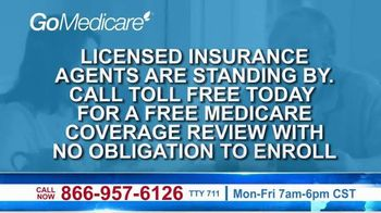 GoMedicare TV Spot, 'Medicare Benefits' - Thumbnail 3