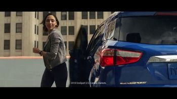2018 Ford EcoSport TV Spot, 'The Big Upgrade' [T2] - Thumbnail 1