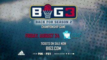 2018 BIG3 Championship Game TV Spot, 'Season 2' - Thumbnail 8