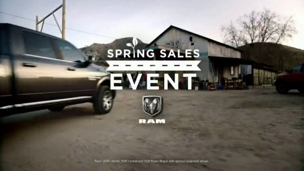 Ram Spring Sales Event TV Commercial, 'Long Live Growth' Song by Anderson East [T2]