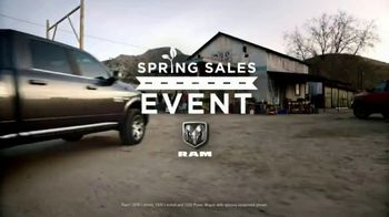 Ram Spring Sales Event TV Spot, 'Long Live Growth' Song by Anderson East [T2] - Thumbnail 1