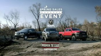 Ram Spring Sales Event TV Spot, 'Long Live Growth' Song by Anderson East [T2] - Thumbnail 8