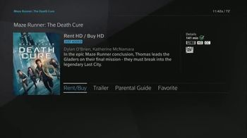 XFINITY On Demand TV Spot, 'X1: Maze Runner: The Death Cure' - Thumbnail 3