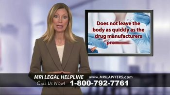 MRI Lawyers TV Spot, 'Gadolinium Complications'