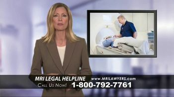 MRI Lawyers TV Spot, 'Gadolinium Complications' - Thumbnail 6