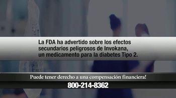 Mindiola Law Firm TV Spot, 'Invokana' [Spanish]