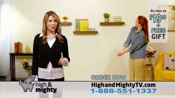 High & Mighty Floating Shelf TV Spot, 'Just Amy' - Thumbnail 10