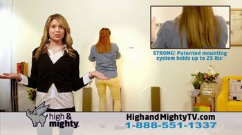 High & Mighty Floating Shelf TV Spot, 'Just Amy' - Thumbnail 4