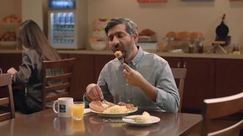 Choice Hotels TV Spot, \'Free Waffles\'