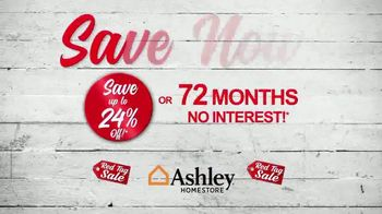 Ashley HomeStore Red Tag Sale TV Spot, 'The More You Buy' - Thumbnail 8