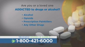 Treatment Centers of America TV Spot, 'Drug or Alcohol Addiction' - Thumbnail 1