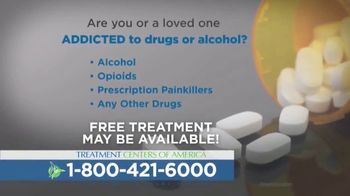 Treatment Centers of America TV Spot, 'Drug or Alcohol Addiction'
