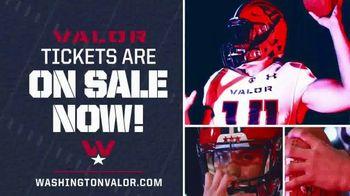 Washington Valor TV Spot, 'Big Plays'