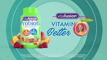 VitaFusion Probiotic TV Spot, 'What's the Best About Probiotic Gummies?' - Thumbnail 8