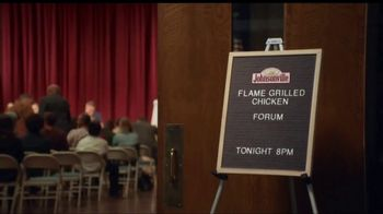 Johnsonville Flame Grilled Chicken TV Spot, 'Town Hall' - Thumbnail 2