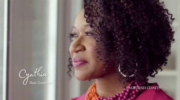 California Closets TV Spot, 'Cynthia's Story' - Thumbnail 2