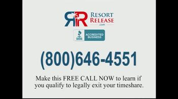 Resortrelease.com TV Spot, 'Attention Timeshare Owners' - Thumbnail 8