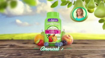 VitaFusion Simply Good TV Spot, 'The Best About Simply Good Vitamins?' - Thumbnail 2