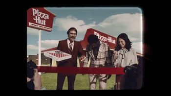 Pizza Hut TV Spot, 'Here's to 60 Years of Pizza Hut' - 490 commercial airings
