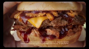 Hardee's Memphis BBQ Thickburger TV Spot, 'The Lick' Song by Branchez - Thumbnail 7